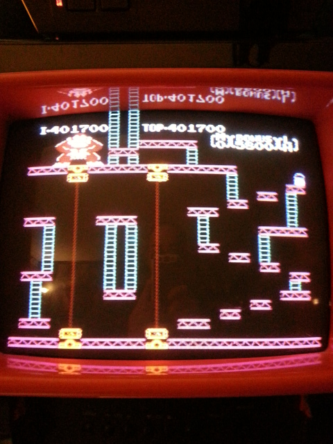 NESMike: Donkey Kong (NES/Famicom) 401,700 points on 2013-12-07 05:48:52