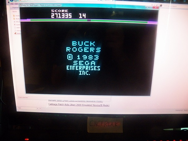 Buck Rogers: Planet of Zoom 271,335 points