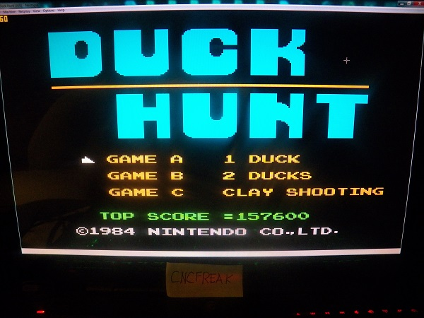 Duck Hunt: One Duck [Any Distance] 157,600 points