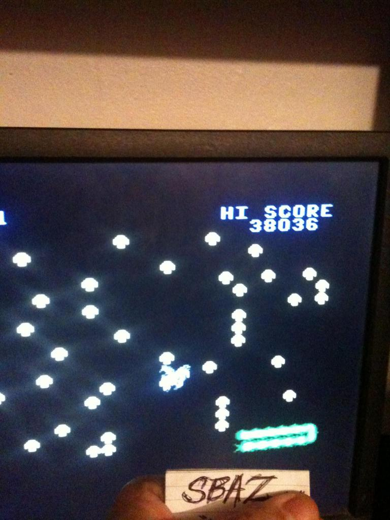 Centipede: Easy 38,036 points