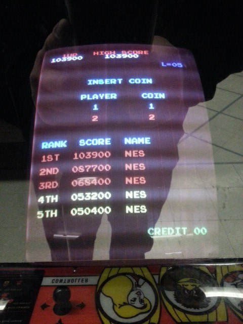 Donkey Kong 103,900 points