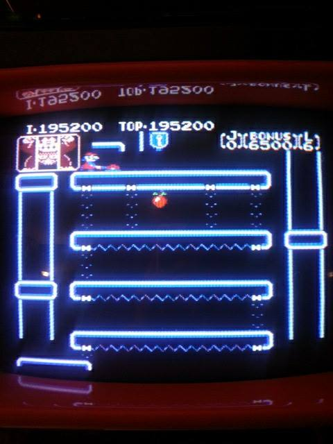 Donkey Kong Jr 195,200 points