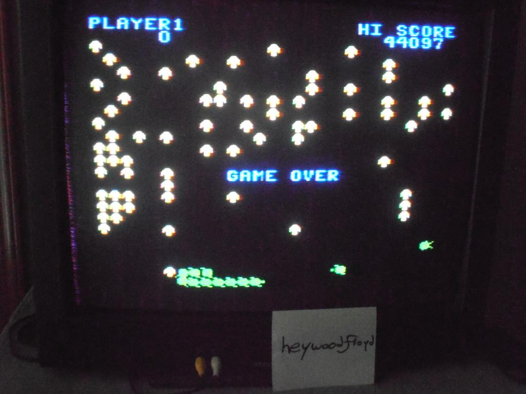 heywoodfloyd: Centipede: Easy (Colecovision) 44,097 points on 2013-09-17 17:12:44