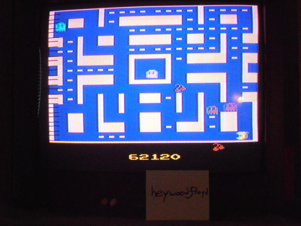 heywoodfloyd: Ms. Pac-Man (Atari 2600) 62,120 points on 2013-09-17 17:14:54