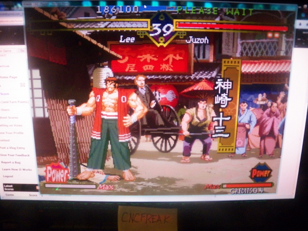 Last Blade 186,100 points