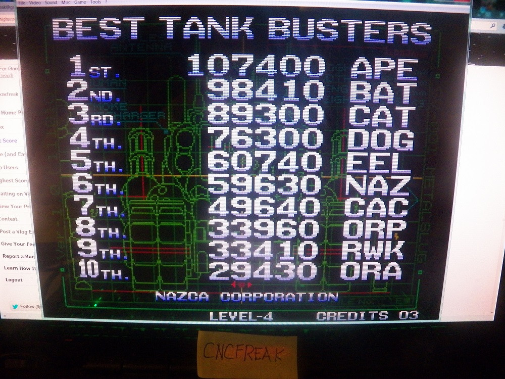 Metal Slug 33,410 points