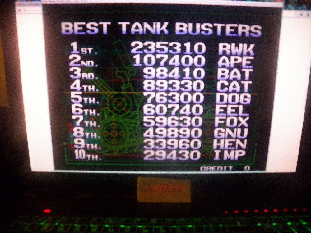 Metal Slug 2 235,310 points