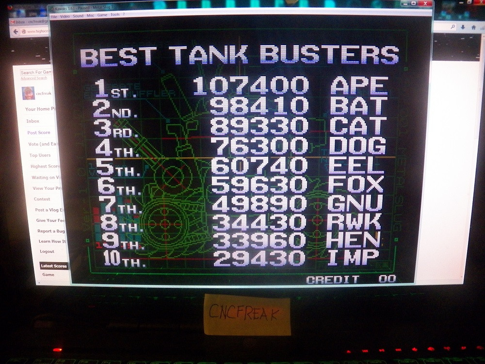 Metal Slug 3 34,430 points