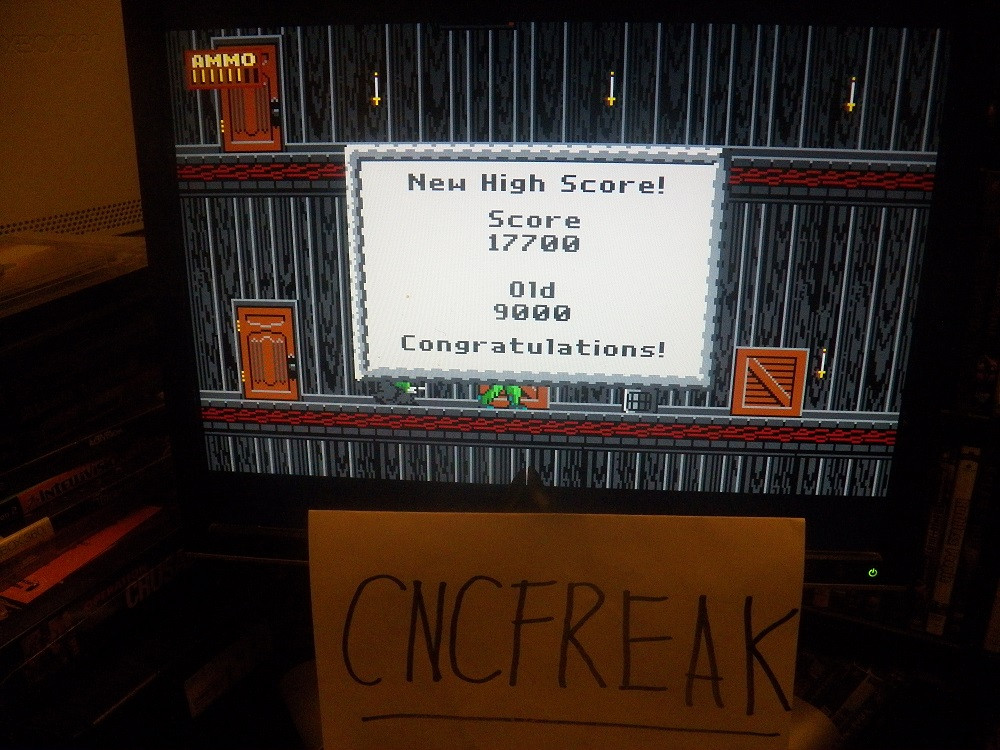 Dangerous Dave in the Haunted Mansion 17,700 points