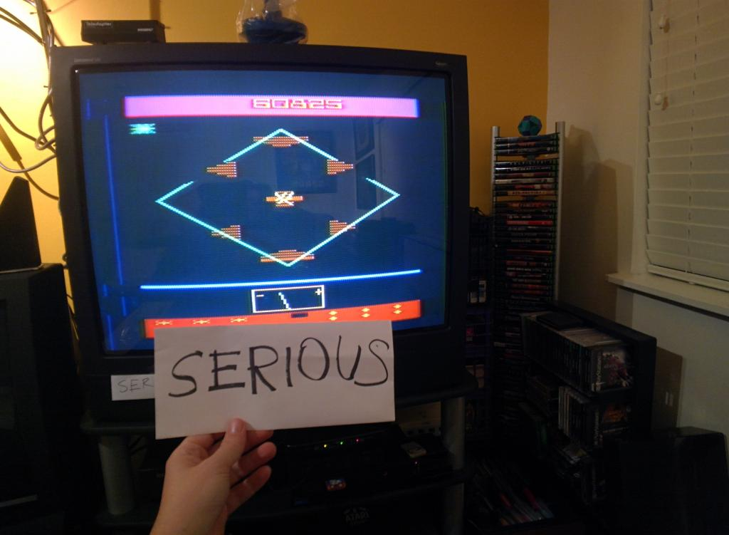 Serious: Spacemaster X-7 (Atari 2600 Expert/A) 60,825 points on 2013-12-18 22:44:29