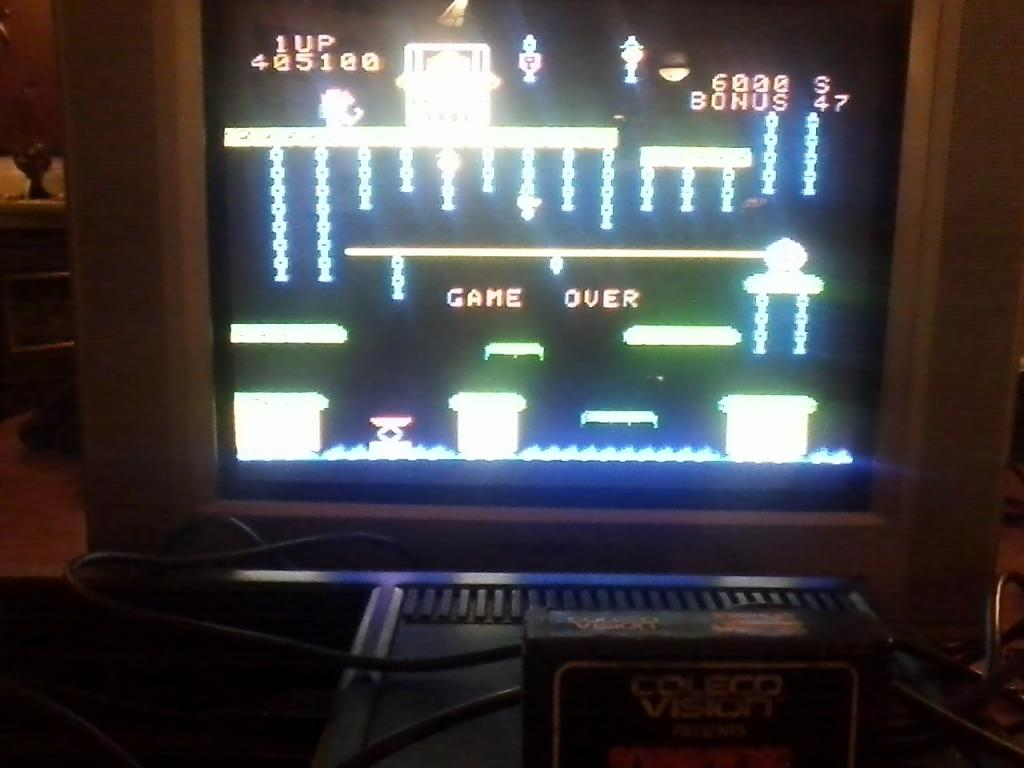 Donkey Kong Jr 405,100 points