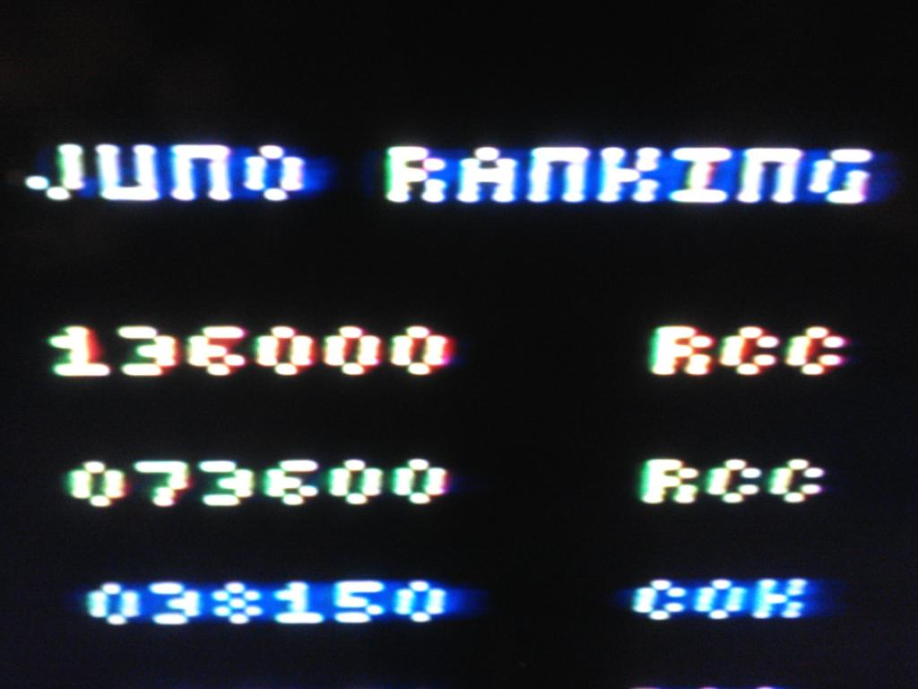 galagafirstdefender: Juno First (Atari 2600 Expert/A) 136,000 points on 2013-12-27 22:15:32