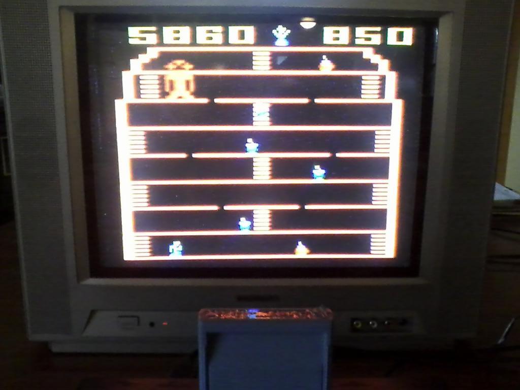 NorthCoastGamer: King Kong (Atari 2600 Novice/B) 5,860 points on 2013-12-28 09:48:41