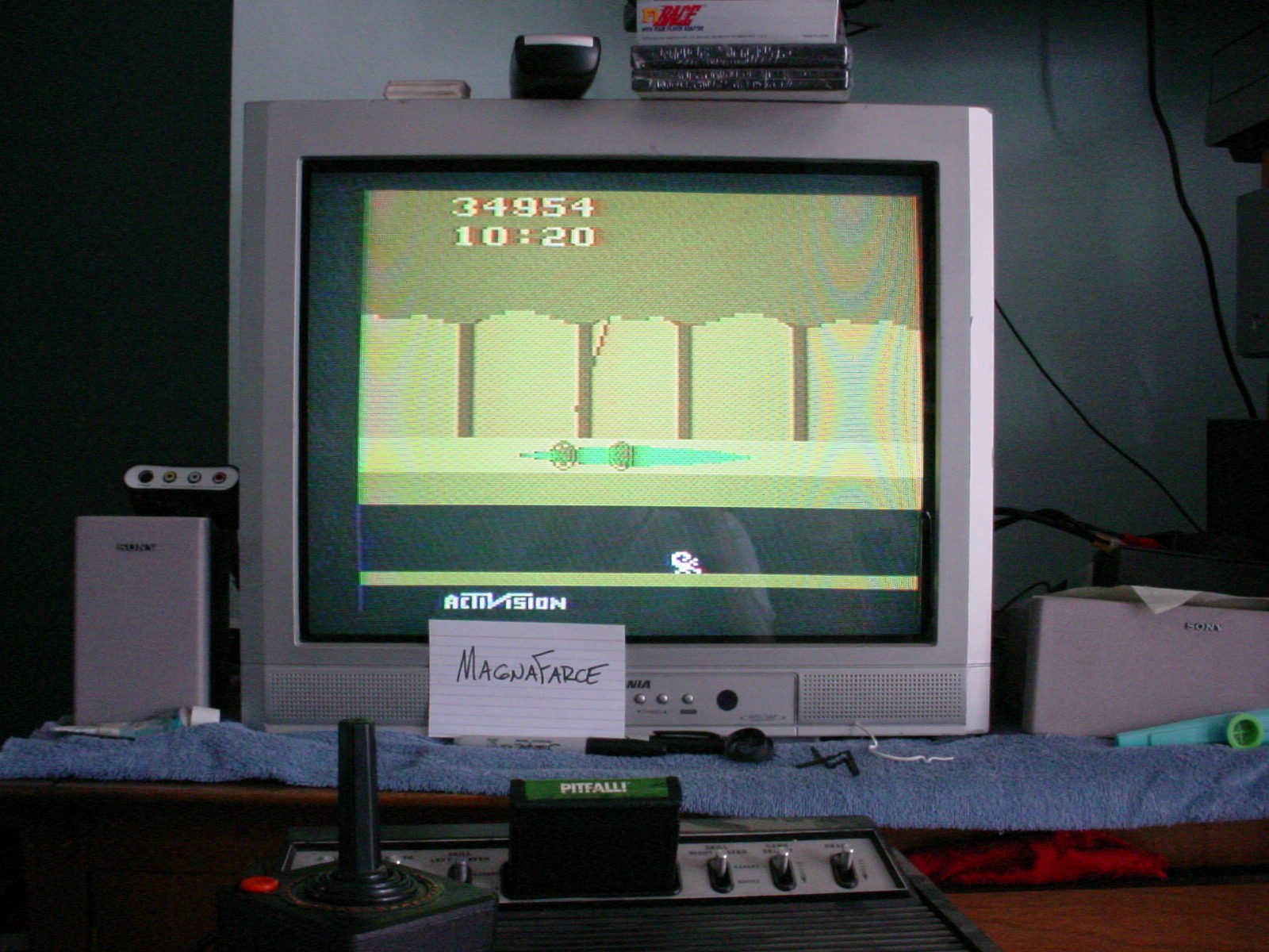 MagnaFarce: Pitfall! (Atari 2600 Expert/A) 34,954 points on 2014-01-01 16:12:21