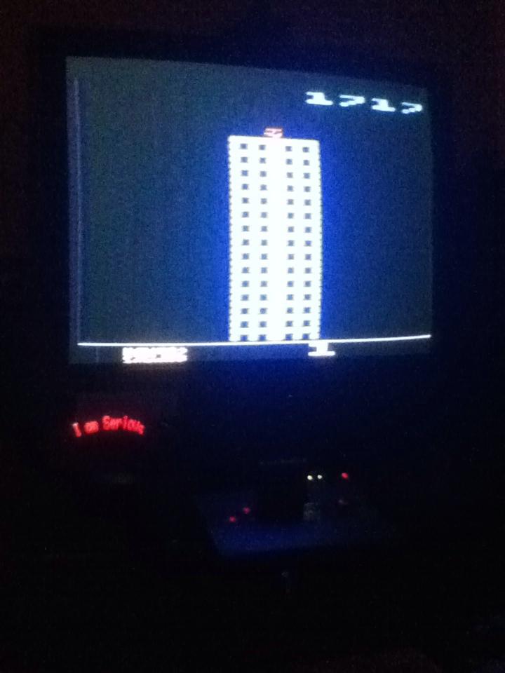Serious: Towering Inferno (Atari 2600 Novice/B) 1,717 points on 2013-08-19 10:46:40