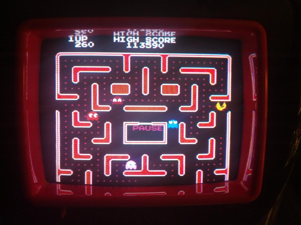 Ms. Pac-Man [Tengen] 113,590 points