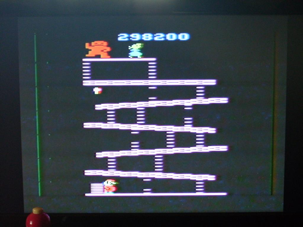 Donkey Kong 298,200 points