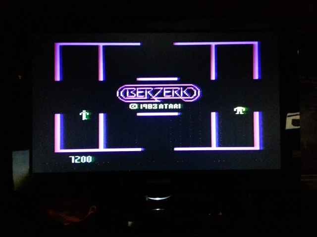 NESMike: Berzerk: Game 1 (Atari 5200) 7,200 points on 2014-01-08 15:32:24