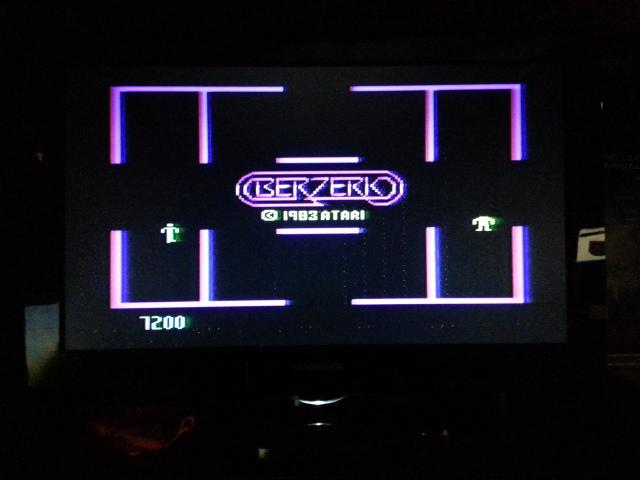 Berzerk: Game 1 7,200 points