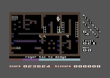 Centauron: Blagger (Commodore 64 Emulated) 23,624 points on 2014-01-10 14:13:46