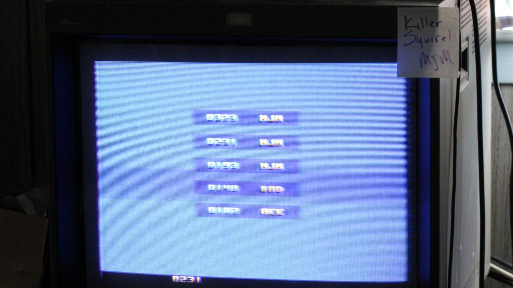 killersquirel: Man Goes Down (Atari 2600 Expert/A) 323 points on 2013-09-18 07:11:36
