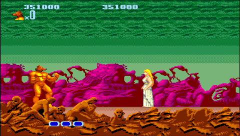 Altered Beast 351,000 points