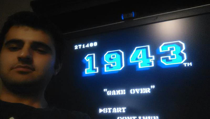 Mases: 1943 (NES/Famicom) 271,400 points on 2014-01-13 22:35:37