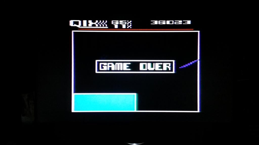 NESMike: Qix: Advanced (Atari 5200) 36,023 points on 2014-01-14 02:00:29