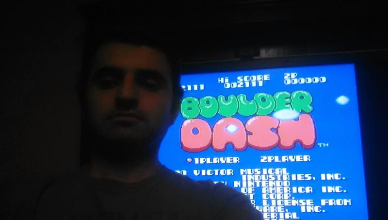 Mases: Boulder Dash (NES/Famicom) 2,111 points on 2014-01-14 23:42:23
