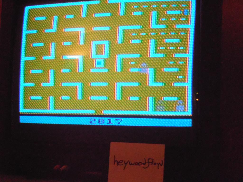 Pac-Man 2,817 points