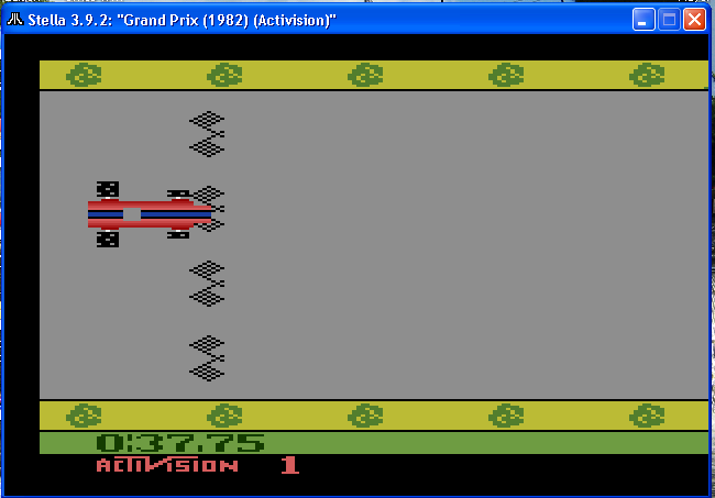 arenafoot: Grand Prix: Game 1 (Atari 2600 Emulated Novice/B Mode) 0:00:37.75 points on 2014-01-16 23:16:01