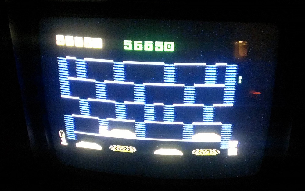 Dasse: BurgerTime (Intellivision) 56,650 points on 2014-01-18 06:44:59
