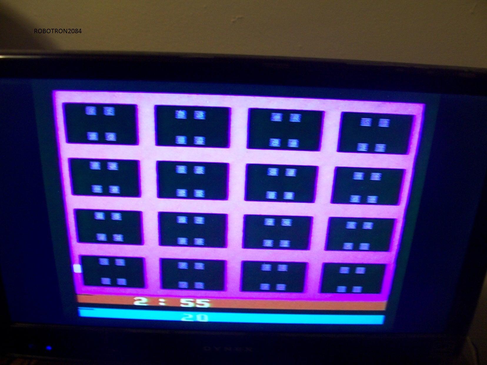 Robotron2084: Dice Puzzle (Atari 2600) 0:02:55 points on 2014-01-19 13:50:13