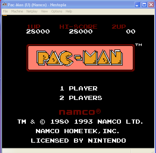 arenafoot: Pac-Man (NES/Famicom Emulated) 28,000 points on 2014-01-19 18:29:19