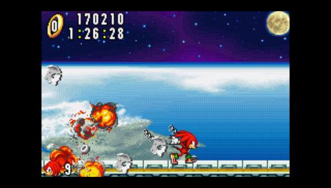 Sonic Advance 170,210 points