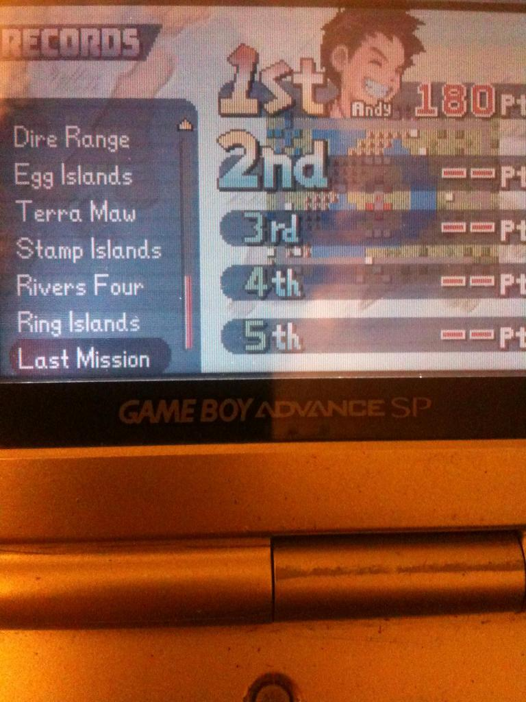 Advance Wars: Last Mission 180 points