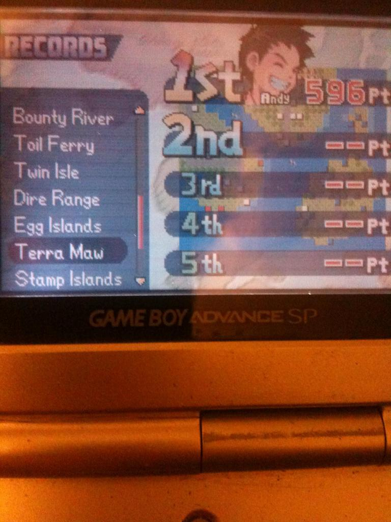 Advance Wars: Terra Maw 596 points
