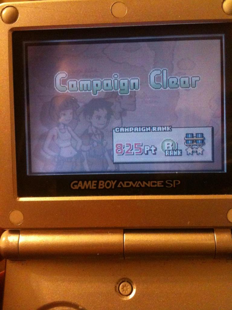 Advance Wars: Campaign 825 points