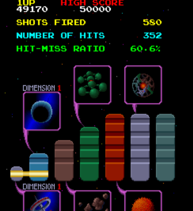 arenafoot: Galaga 88 (Arcade Emulated / M.A.M.E.) 49,170 points on 2014-01-26 22:42:09