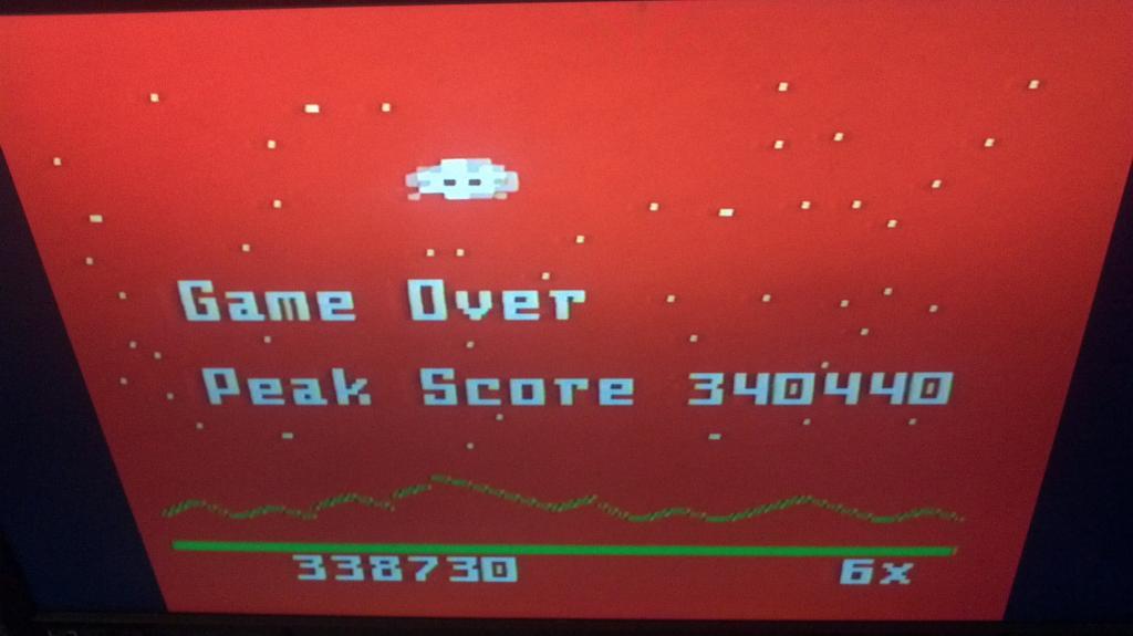 Astrosmash [Peak Score] 340,440 points