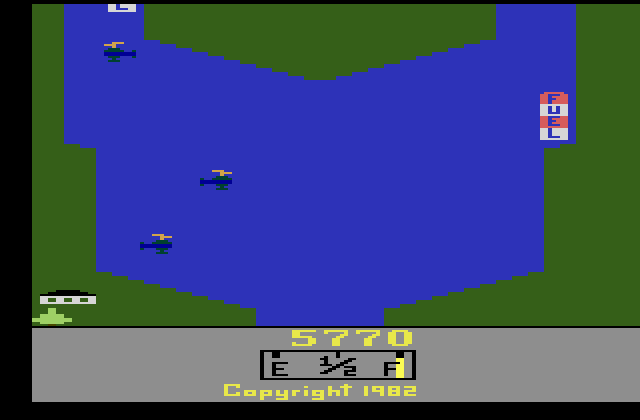 River Raid 5,770 points