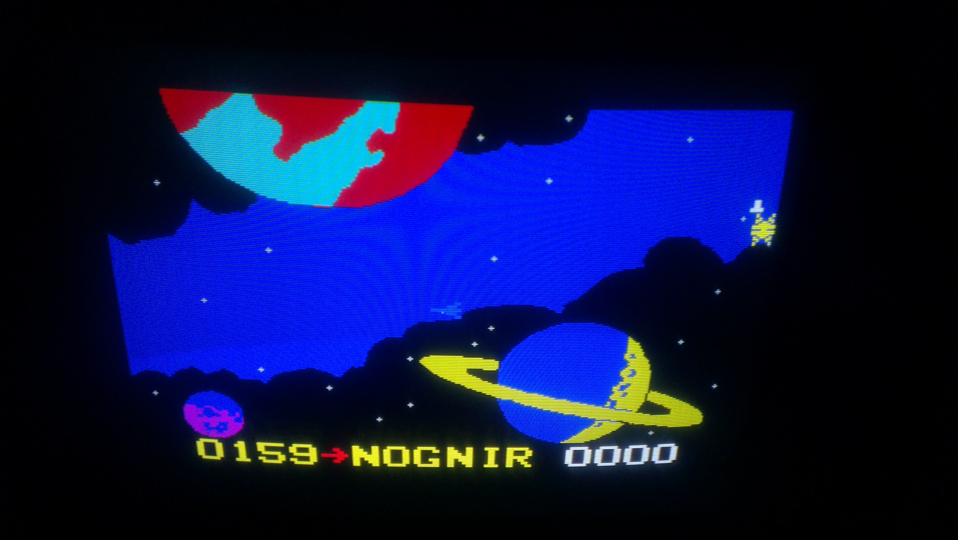 Nognir: Freedom Fighters (Odyssey 2 / Videopac) 159 points on 2014-01-29 15:31:28