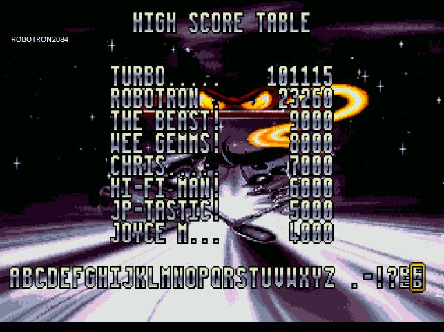 Robotron2084: Zool 2: Normal (Atari Jaguar Emulated) 23,260 points on 2014-01-29 17:31:00