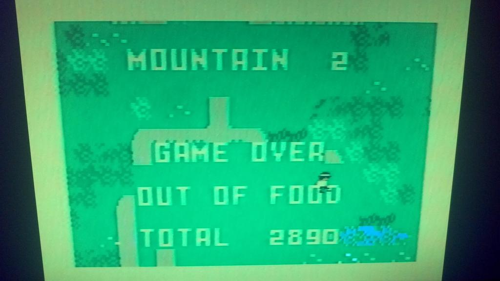 King of the Mountain 2,890 points