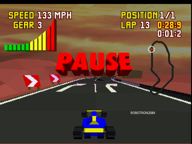 Robotron2084: Checkered Flag: Sunset Strip [Free Practice] (Atari Jaguar Emulated) 0:00:28.9 points on 2014-01-30 13:24:03