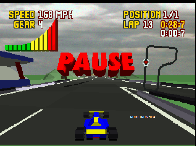 Robotron2084: Checkered Flag: The Hole [Free Practice] (Atari Jaguar Emulated) 0:00:28.7 points on 2014-01-30 14:29:08
