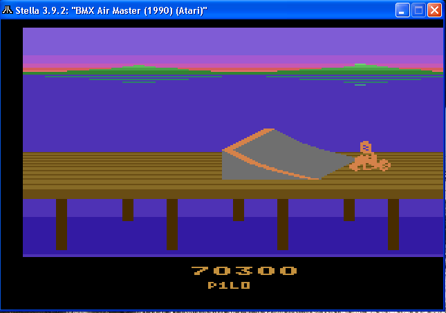 arenafoot: BMX Airmaster: Arcade Mode (Atari 2600 Emulated) 70,300 points on 2014-02-01 20:18:38