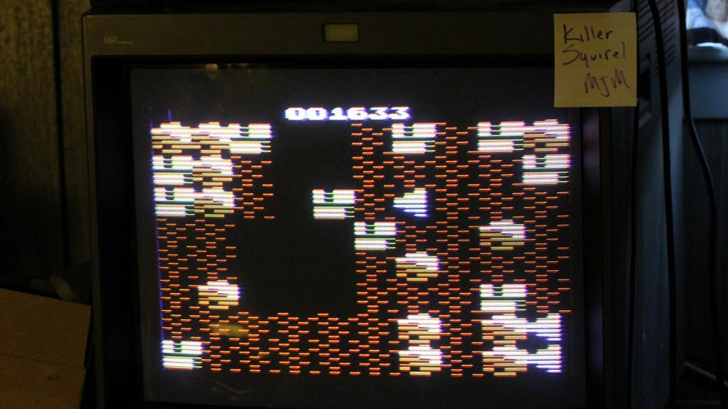 killersquirel: Boulder Dash (Atari 2600 Expert/A) 1,633 points on 2013-09-18 21:36:54
