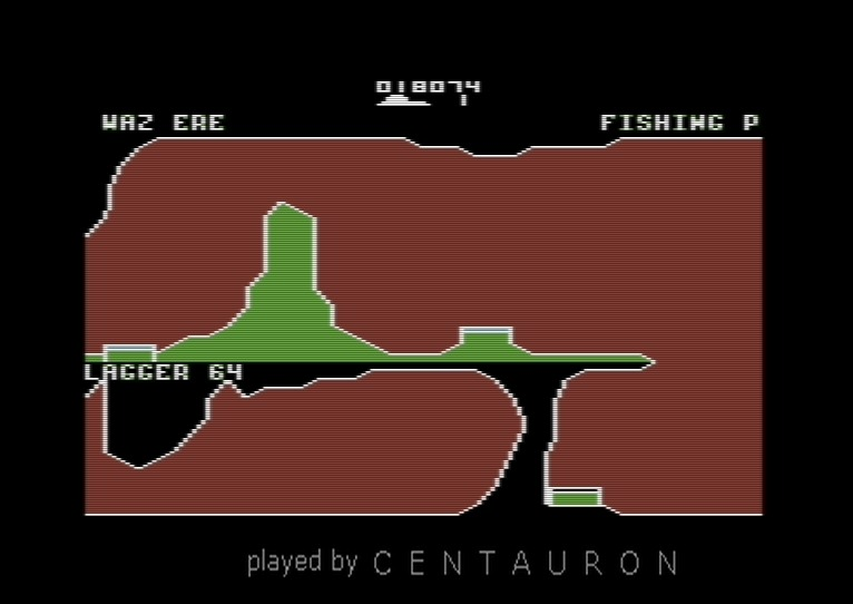 Centauron: Killerwatt: Level 1 Start (Commodore 64 Emulated) 18,074 points on 2014-02-02 12:45:11