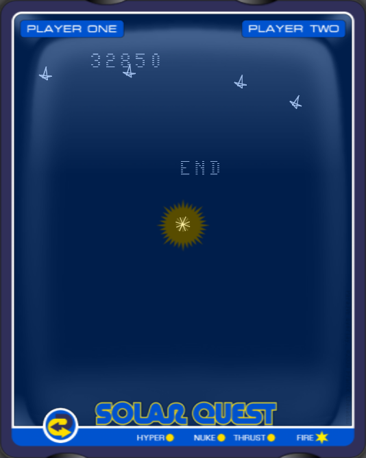 arenafoot: Solar Quest (Vectrex Emulated) 32,850 points on 2014-02-03 01:47:42